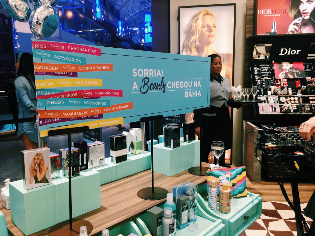 Loja The Beauty Box do Salvador Shopping (Foto: Moça Criada)